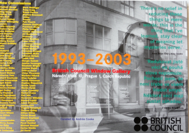 British Council Window Gallery 1993 - 2003
