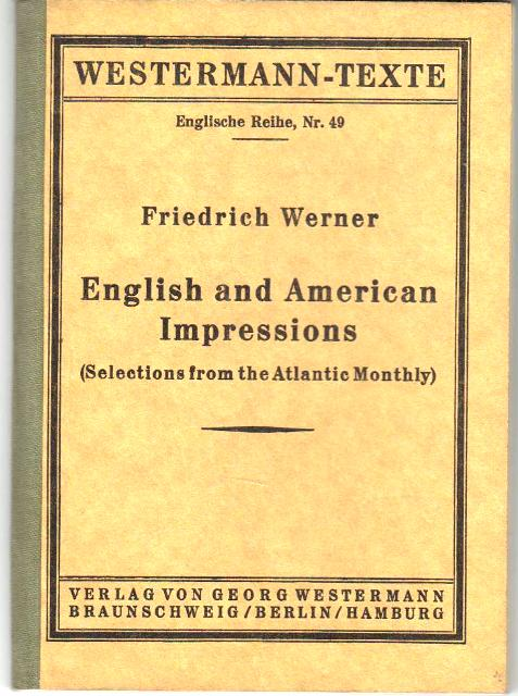 English and American Impressions