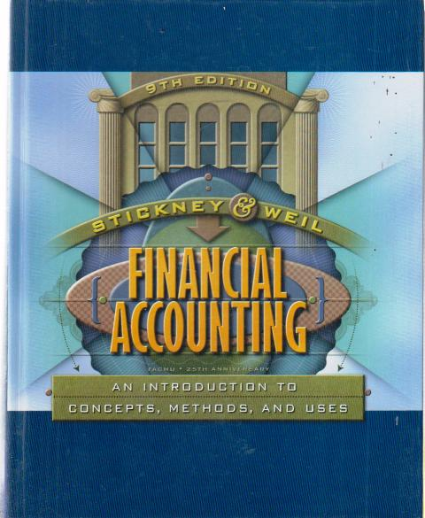 Financial Accounting - An Introduction to Concepts, Methods, and Uses