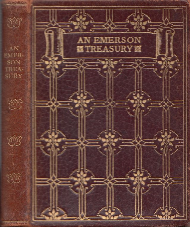 An Emerson Treasury - The Queen s Library of Literary Treasures